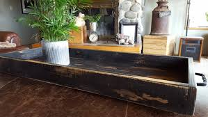 Serving Tray Ottoman by Farmhouse Tray Ottoman Tray Rustic Tray Pallet Wood Tray 33 X