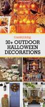 vintage halloween fabrics 35 best outdoor halloween decoration ideas easy halloween yard