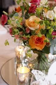 flower arrangements with lights weddings by madeleine pink