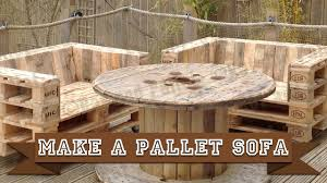 Recycled Wood by Make A Simple Diy Pallet Sofa Chair From Recycled Wood Using This