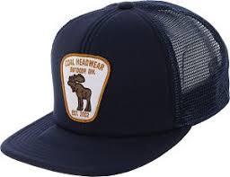 bureau discount discount coal the bureau trucker hat in navy coal