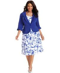 le bos plus size dress and jacket sleeveless ruffled le bos