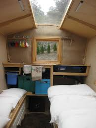 Home Interior Materials by Polly An Ingenious Self Build Camper Made From Salvaged Materials