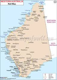 Map Of Western Mexico by Western Australia Rail Map