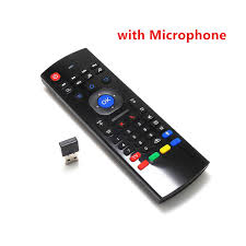 android keyboard with microphone mx3 portable 2 4g wireless remote keyboard fly air mouse
