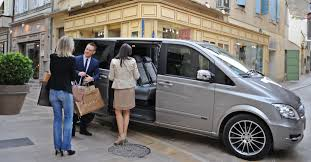 private driver luxury service rental car with chauffeur in the alps