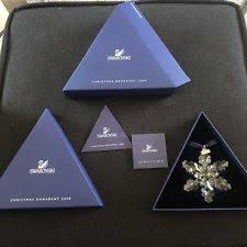 swarovski 2008 ornaments annual size snowflake