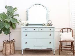 Antique Dresser Vanity Shabby Chic Antique Dresser Vanity Dresser With Mirror No275