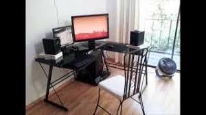 Black Glass Computer Desk Cheap Black Glass Computer Desk Find Black Glass Computer Desk