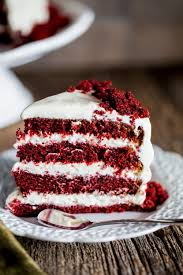 red velvet cake with cream cheese frosting food pinterest