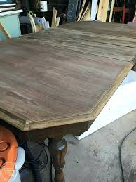 refinishing wood table without stripping refinishing dining table without sanding how to refinish a table