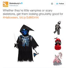 halloween pictures of skeletons sainsburys customers horrified at shocking and offensive halloween