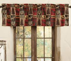 Western Window Valance Products In Curtain Rods On Black Forest Decor