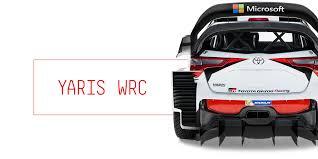 motor cars toyota car details wrc wrc toyota gazoo racing