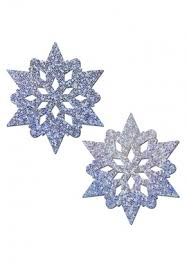 led light up pasties silver glitter snowflake pasties holographic covers from