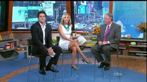 lara spencer nice legs in short skirt gma afternoon youtube