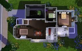 Suburban House Floor Plan by Sims 3 Suburban House Plans Arts