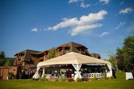 wedding venues in montana lodge at whitefish lake montana wedding venue wedding venues