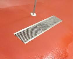 Epoxy Flooring Proper Drain Installation For Epoxy Flooring And Urethane Concrete