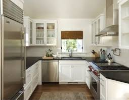 Small U Shaped Kitchen Design Ideas by Easiest Steps To Arrange Narrow Space Small Kitchen Design