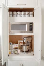 kitchen cabinets microwave placement kitchen decoration