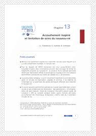 accouchement si e accouchement inopiné et limitation de pdf available