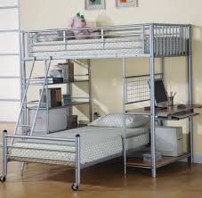 Loft Bed With Desk On Top Foldable Bunk Bed Couch Home Design Ideas