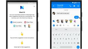cortana take me to my facebook page facebook launches digital assistant m in the us the indian express