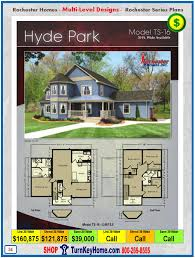 hyde park rochester modular home two story plan price