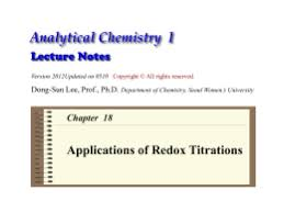 Applications Of Colorimetry In Analytical Chemistry I Principle Of A Colorimetric Titration