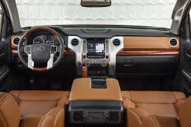 Nicest Truck Interior 95 Of Pickup Truck Buyers Agree With Dan Neil Toyota Tundra Not