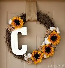 diy wreaths fall monogram wreath addicted 2 diy