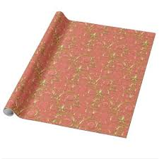 fancy christmas wrapping paper christmas wrapping paper majesty golden swirls wrapping paper