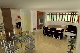Simple Home Interiors Fascinating 10 Open Kitchen Living Room Designs India Decorating