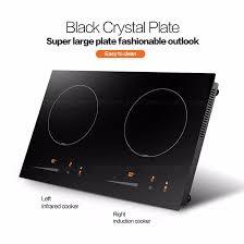2 Burner Cooktop Electric Home Design Ceramic Hob Infrared Cooktop Wok Induction Cooker 2