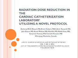 radiation dose reduction