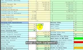 Rental Property Calculator Spreadsheet Investment Property Cash Flow Spreadsheet Greenpointer Us