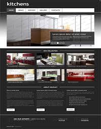 Kitchen Website Design 50 Fantastic Html Furniture Interior Design Website Templates