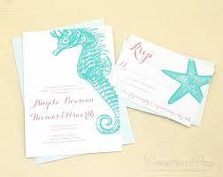 32 beach wedding invitations starfish vizio wedding