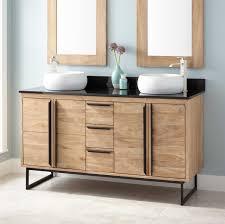 wood contemporary vanity signature hardware