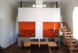Orange And White Kitchen Ideas 20 Kitchens With Stylish Two Tone Cabinets