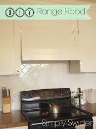decor diy custom range hoods for kitchen decoration ideas