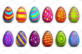 easter eggs easter eggs images clip coloring pages in a basket
