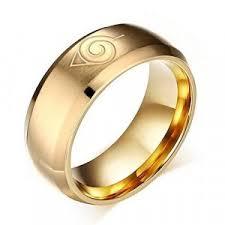 anime wedding ring ring asma titanium steel anime gold color ring for