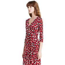 dvf wrap dress diane furstenberg new julian two silk jersey wrap dress