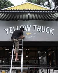 Yellow Truck Coffee yellow truck coffee bogor on behance