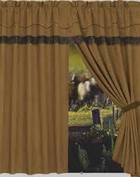 Western Window Valance Laredo Western Curtain Valance Turquoise Lone Stars Fantasy
