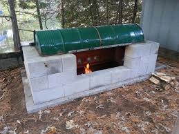 Home Rotisserie Design Ideas Large Rotisserie Pit Bbq 13 Steps With Pictures