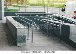 Wheelchair Ramp Handrails Ramp Stock Images Royalty Free Images U0026 Vectors Shutterstock