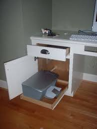Computer Desk With Printer Storage How To Turn A Drawer Into A Hide Away Printer Great Idea